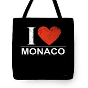I Love Monaco Tote Bag