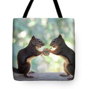 I Take Thee Tote Bag by Peggy Collins