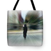 I Walk Alone Tote Bag
