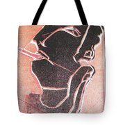 I Was Born In A Mine Woodcut 12 Tote Bag