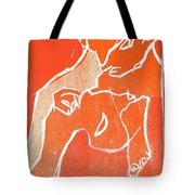 I Was Born In A Mine Woodcut 19 Tote Bag