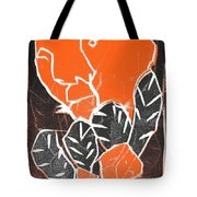 I Was Born In A Mine Woodcut 42 Tote Bag