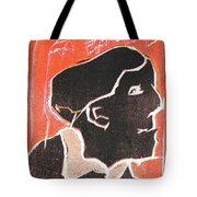 I Was Born In A Mine Woodcut 49 Tote Bag