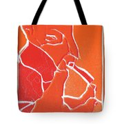 I Was Born In A Mine Woodcut 69 Tote Bag