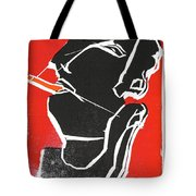 I Was Born In A Mine Woodcut 7 Tote Bag