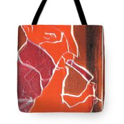 I Was Born In A Mine Woodcut 76 Tote Bag