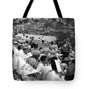 I Would Not Give Up This Seat Tote Bag