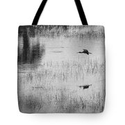 Ibsis Flying In At Evening To Roosting Ground Tote Bag by Dan Friend