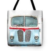 Ice Cream Food Truck Metro Van Tote Bag