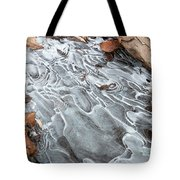 Ice Swirls Tote Bag
