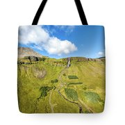 Iceland Volcano Tote Bag by David Letts