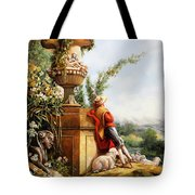 Il Pastore E Le Sue Pecore Tote Bag by Guido Borelli