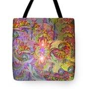 Illusion Wave #2 Tote Bag