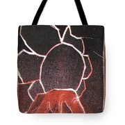 Image 23 I Was Born In A Mine Woodcut Tote Bag
