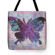 Imagine Butterfly Tote Bag