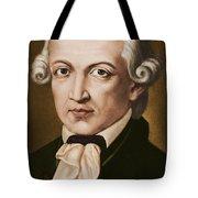 Immanuel Kant, Philosopher, Born In Konigsberg, Germany Tote Bag