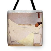 In Bed - Digital Remastered Edition Tote Bag