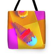 In Bubblegum Tones Tote Bag
