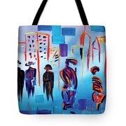 In Line Cle Revisited Tote Bag