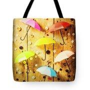 In Rainy Fashion Tote Bag