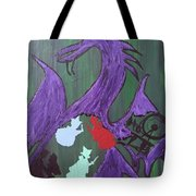 In The Belly Of The Dragon Tote Bag
