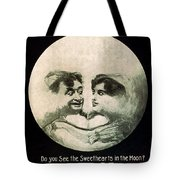 In The Blue Moon Tote Bag