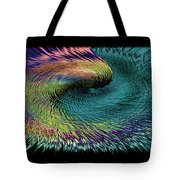 In The Eye Of The Storm II Altered  Tote Bag