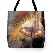 In The Hall Of The Nano King Tote Bag