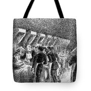 In The Hospital Sketch Tote Bag