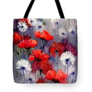 In The Night Garden - Sleeping Poppies Tote Bag