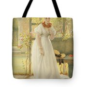 In The Walled Garden, 1869 Tote Bag