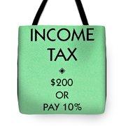 Income Tax Tote Bag