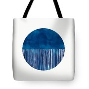 Indigo Moon- Art By Linda Woods Tote Bag