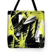 Industrial Abstract Painting II Tote Bag
