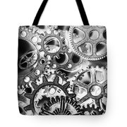 Industry Iron Tote Bag