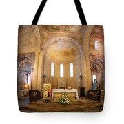 Inside The Basilica Tote Bag by Tom Singleton