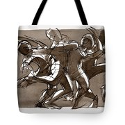 Interaction Tote Bag by Judith Kunzle