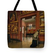 Interior View Of The Metropolitan Museum Of Art When In Fourteenth Street  Tote Bag