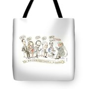 Intervention For The President Tote Bag
