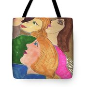 Intrigue At The Theater Tote Bag