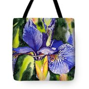 Iris In Bloom Tote Bag