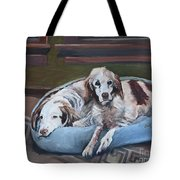 Irish Red And White Setters - Archer Dogs Tote Bag
