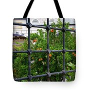 Iron Fencing Tote Bag