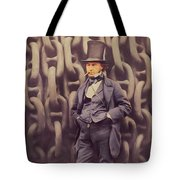 Isambard Kingdom Brunel, Genius Tote Bag