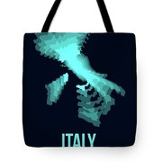 Italy Radiant Map 1 Tote Bag