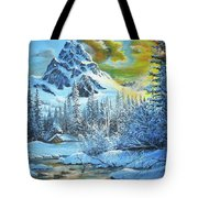 It's Out In The Winter Tote Bag