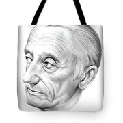 Jacques-yves Cousteau Tote Bag