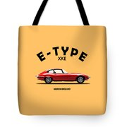 Jaguar E Type Tote Bag