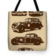 Jaguar Mark Iv Ss 2.5 Saloon Tote Bag