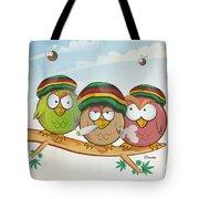Jamaican Owl Group Cartoon by Domenico Condello